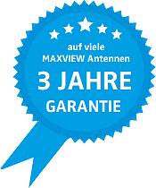 3 Jahre Garantie Maxview