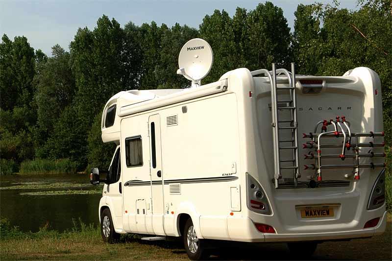 Seeker Wireless auf Reisemobil